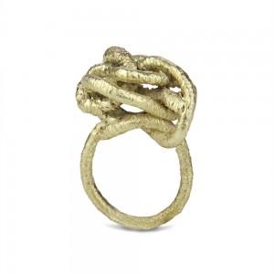 csomós gyűrű